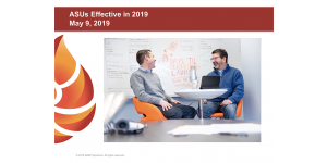 Top 5 Takeaways From Our Webinar: ASUs Effective in 2019