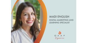 Meet Madi English, Digital Marketing and Learning Specialist