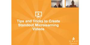 DevLearn Recap: Tips & Tricks to Create Standout Microlearning Videos