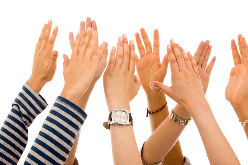 Руки поднимите свои выше