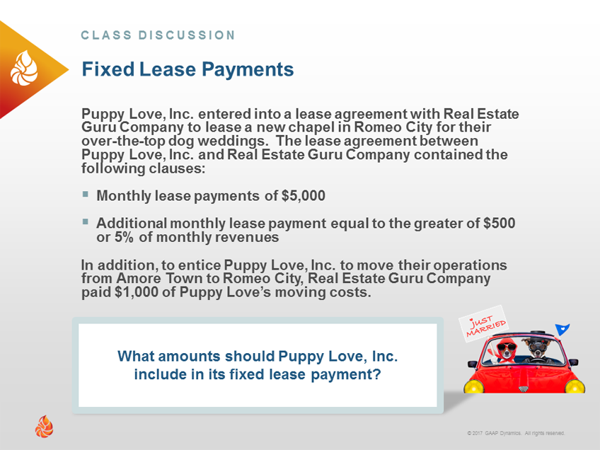 Lease Payments Whats Included Under Asc 842 Differs From Asc 840